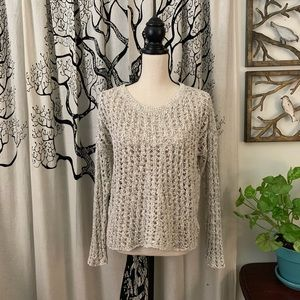 NWT American Eagle Open Knit Pullover Sweater